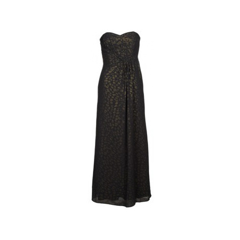Manoukian 612930 women's Long Dress in Black