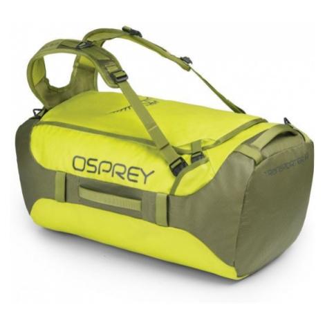 Osprey TRANSPORTER 65 II light green - Travel luggage