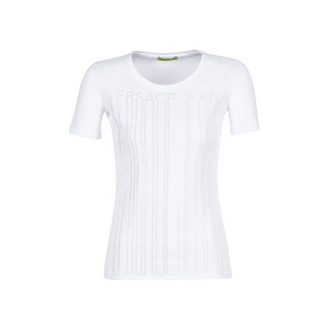 Versace Jeans Couture B2HRB7T0 women's T shirt in White