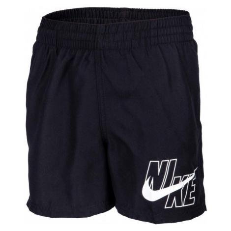 Nike LOGO SOLID LAP black - Boys' swimsuit