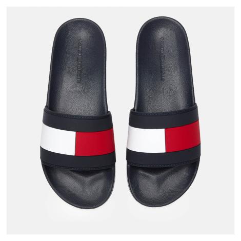 Tommy Hilfiger Men's Essential Flag Pool Slide Sandals - Desert Sky - UK