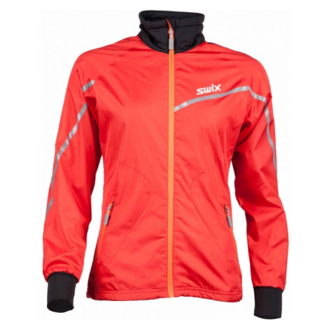 Swix XTRAINING JKT W red - Multifunctional jacket