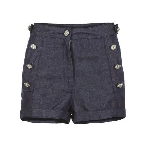Manoush JEAN women's Shorts in Blue