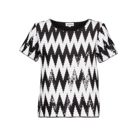 American Retro GEGE women's T shirt in Black