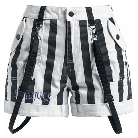 Beetlejuice - Beetlejuice - Girls shorts - black-white