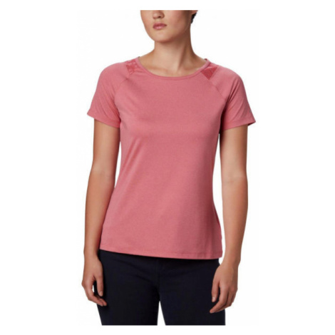 Columbia PEAK TO POINT II SS TEE pink - Women's T-shirt