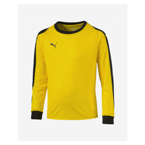Puma Liga Gk Jersey Jr Kids T-shirt Yellow