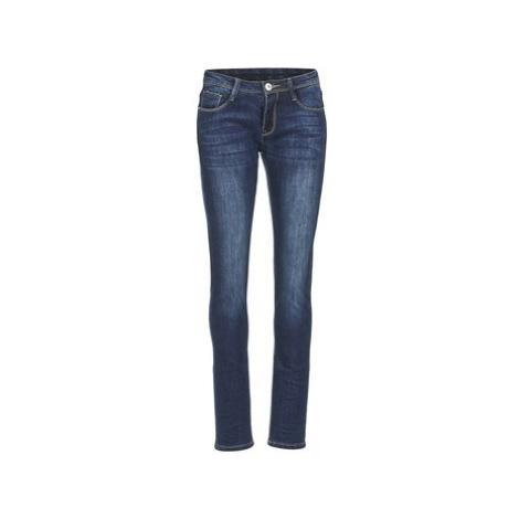 Yurban IETOULETTE women's Skinny Jeans in Blue