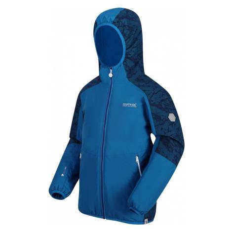Regatta Kids Volcanics IV Waterproof Insulated Jacket-Imperial Blue / Deep Space-3-4 Years
