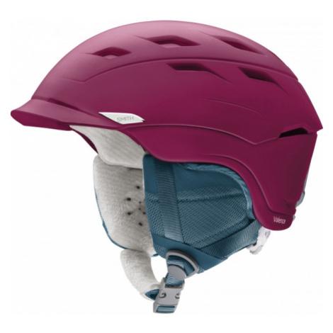 Smith VALENCE W purple - Women's ski helmet