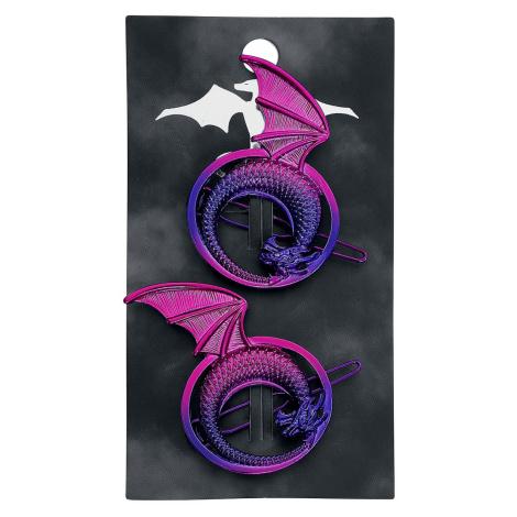 Blackheart - Anodized Dragon - Hair Grip - multicolour