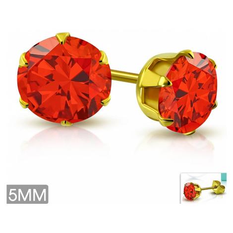 earrings Body Art XRY596 - Red
