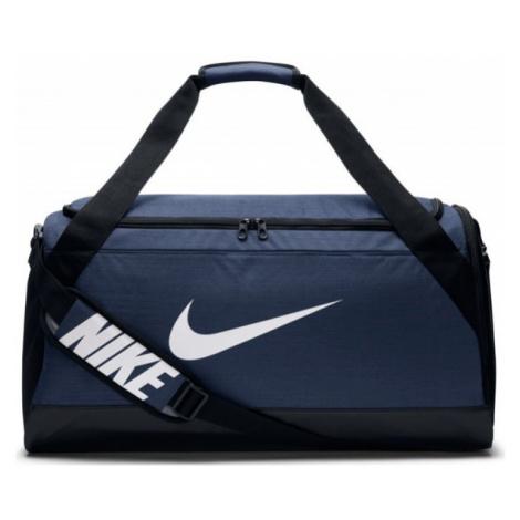Nike BRASILIA MEDIUM DUFFEL dark blue - Sports bag