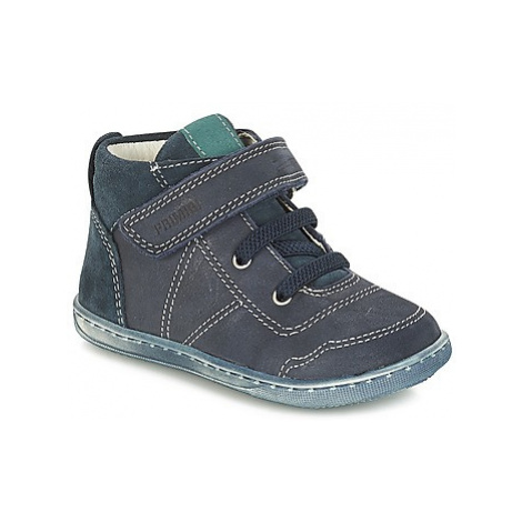 Primigi PALMER boys's Children's Mid Boots in Blue