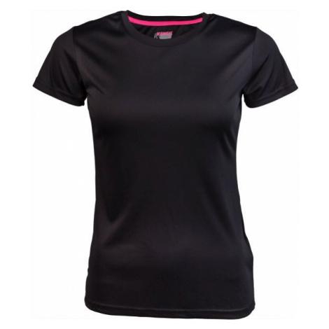 Kensis VINNI NEON YELLOW black - Women's sports T-shirt