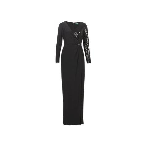 Lauren Ralph Lauren BELLAMY women's Long Dress in Black
