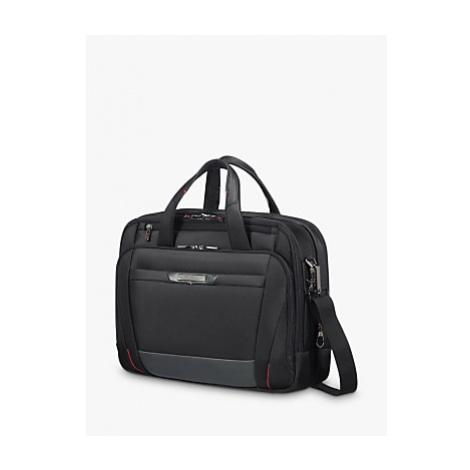 Samsonite Pro Dlx 5 Bail Handle 15 Laptop Briefcase, Black