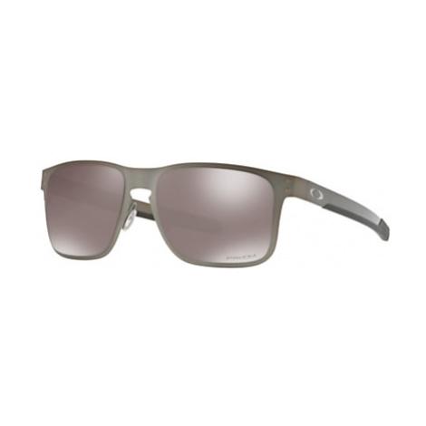 Oakley OO4123 Men's Holbrook Prizm Polarised Metal Square Sunglasses