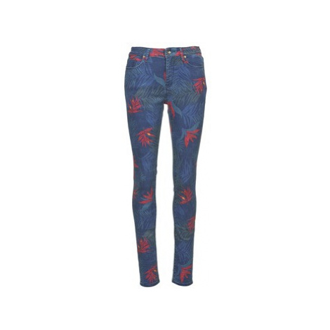 Roxy SUNTRIPPERS HIGH WAIST PRINTS women's Skinny Jeans in Blue