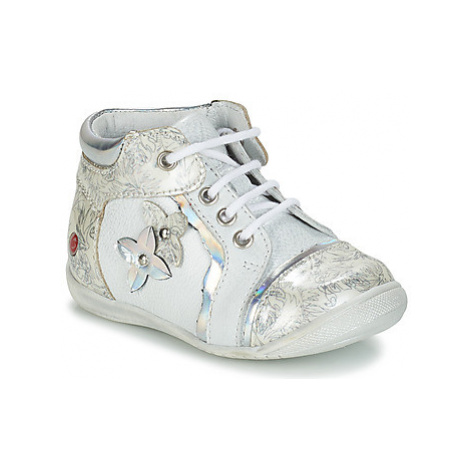 GBB SONIA girls's Children's Mid Boots in Silver