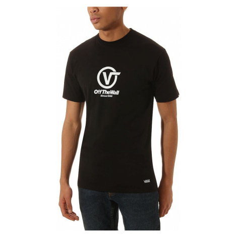 T-Shirt Vans Distorted Performance - Black - men´s