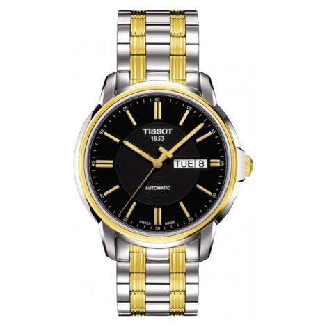 Mens Tissot Automatic III Automatic Watch T0654302205100