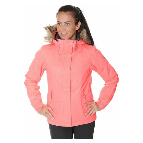 jacket Roxy Jet Ski Solid - NKN3/Neon Grapefruit/Gana Emboss