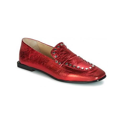 Fru.it 5307-587 women's Loafers / Casual Shoes in Red