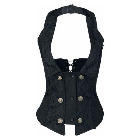 Burleska Melissa Waist Coat Underbust Corsage black