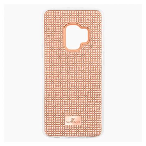Hero Smartphone Case with Bumper, Galaxy S®9, Pink Swarovski