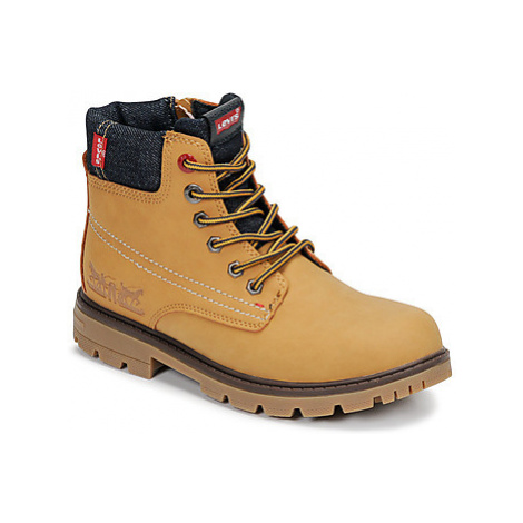 Levis FORREST boys's Children's Mid Boots in Brown Levi´s