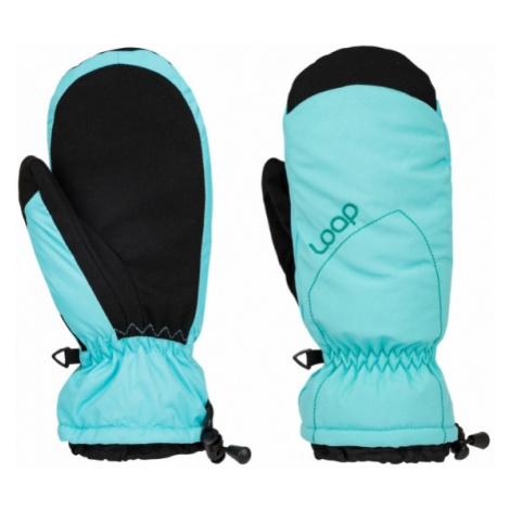 Loap RAKELX blue - Women's gloves