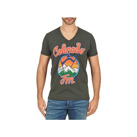Franklin Marshall CORVALLIS men's T shirt in Grey Franklin & Marshall