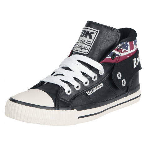 British Knights - Roco Union Jack - Sneakers - black