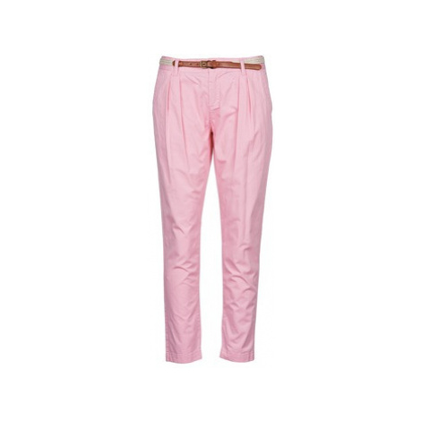 La City PANTBASIC women's Trousers in Pink