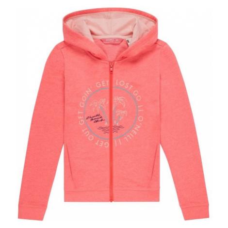 O'Neill LG EASY FZ HOODIE pink - Girls' hoodie
