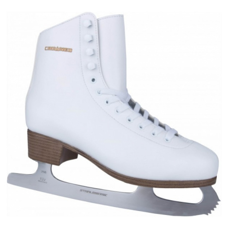 Crowned ELLA white - Women's ice skates