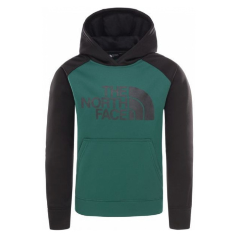 The North Face SURGENT P/O HDY B green - Boys' hoodie