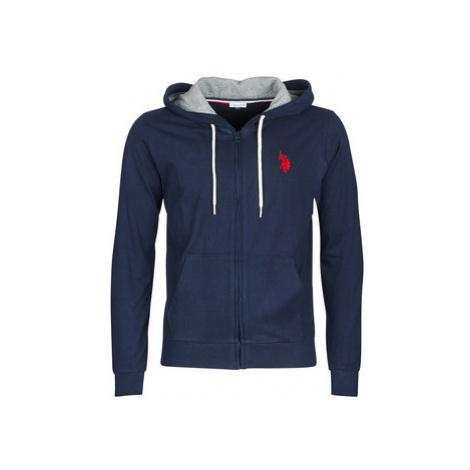 U.S Polo Assn. USPA HOODY FLEECE men's Sweatshirt in Blue U.S. Polo Assn