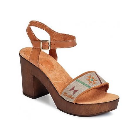 Bunker LUCY women's Sandals in Brown