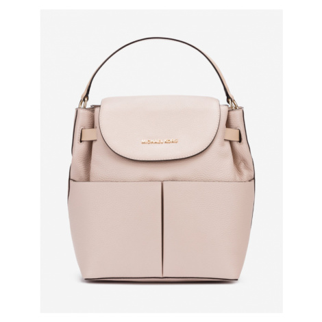 Michael Kors Bedford Large Backpack Beige