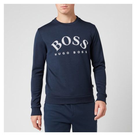 BOSS Men's Salbo Sweatshirt - Navy Hugo Boss