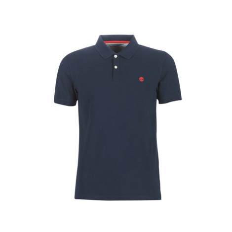 Timberland SS MR Polo Slim DARK SAPPHIRE men's Polo shirt in Blue