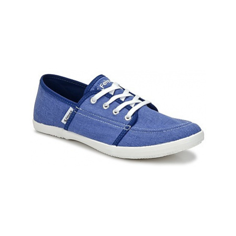 Feiyue CASSIS women's Shoes (Trainers) in Blue