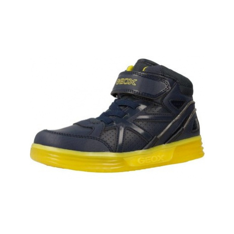 Geox J ARGONAT B boys's Children's Shoes (High-top Trainers) in Blue