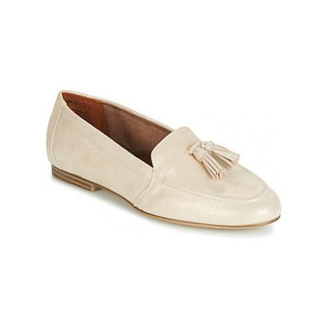 Tamaris ILENA women's Loafers / Casual Shoes in Beige