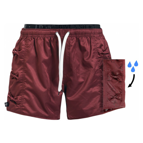 RED by EMP Mix And Match Swim Shorts red