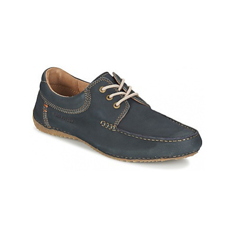 Hush puppies RANDELL men's Casual Shoes in Blue