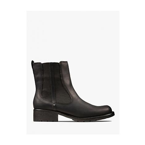 Clarks Orinoco Nubuck Leather Chelsea Ankle Boots