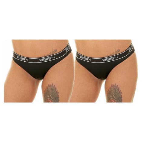 panties Puma 693013001/Mesh Bikini Packed 2 Pack - 200/Black - women´s